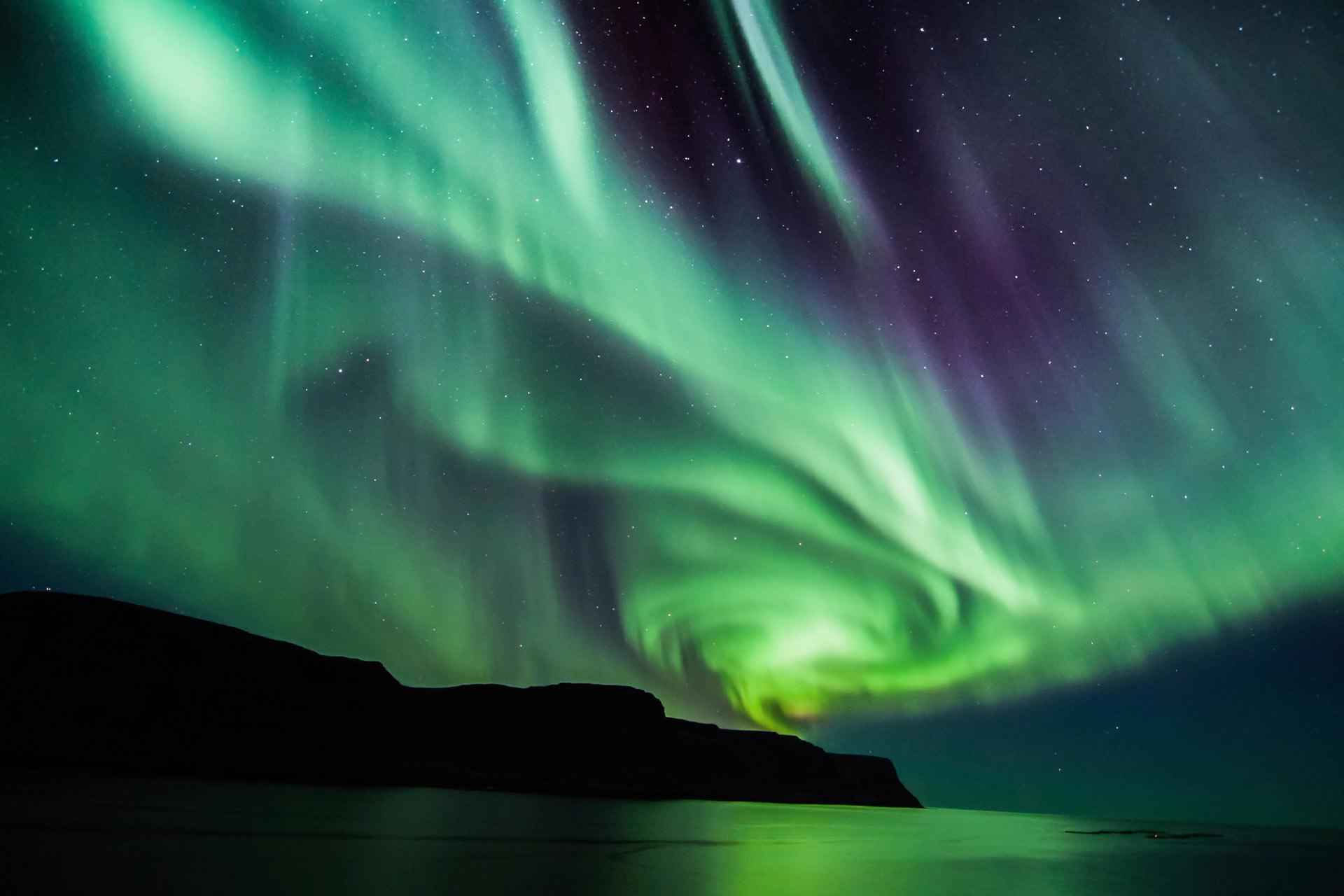 Aurora Borealis colour inspiration