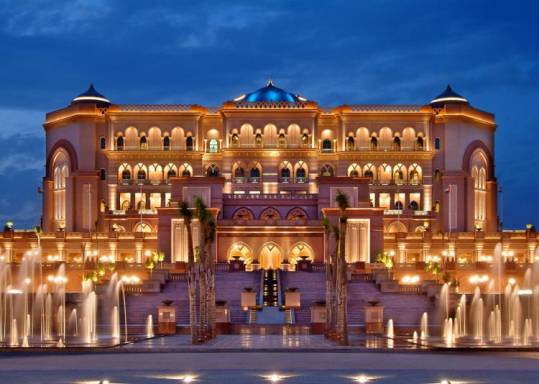 Emirates Palace Hotel - Abu Dhabi