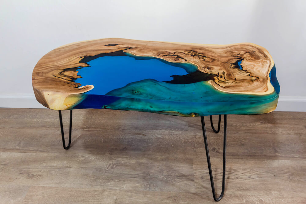 Epoxy Resin Table Mas Paints